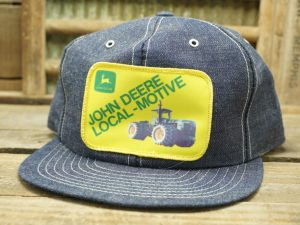 John Deere Denim Hat