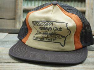 MISSISSIPPI WALLEYE CLUB Dubuque, Iowa Mesh Hat