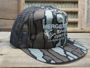 Hergert's Sport Center Oshkosh WI Camo Hat
