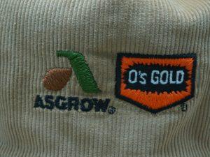 Asgrow O's Gold Seed Corduroy Hat