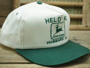 John Deere Held Inc Hubbard Iowa Hat