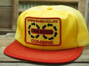 Sperry New Holland Twin Rotor Combine Hat