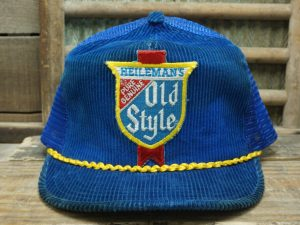 Heileman's Old Style Beer Hat