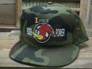 I Pole Pecker Power Camo Hat