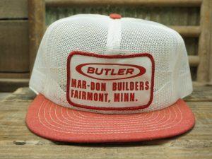 Butler Mar-Don Builders Fairmount, MN Hat
