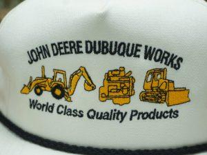 John Deere Dubuque Works Iowa Hat