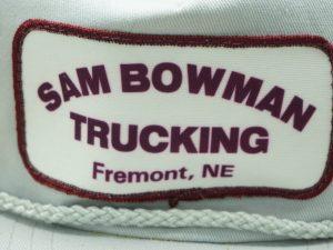 Sam Bowman Trucking Fremont, NE Hat