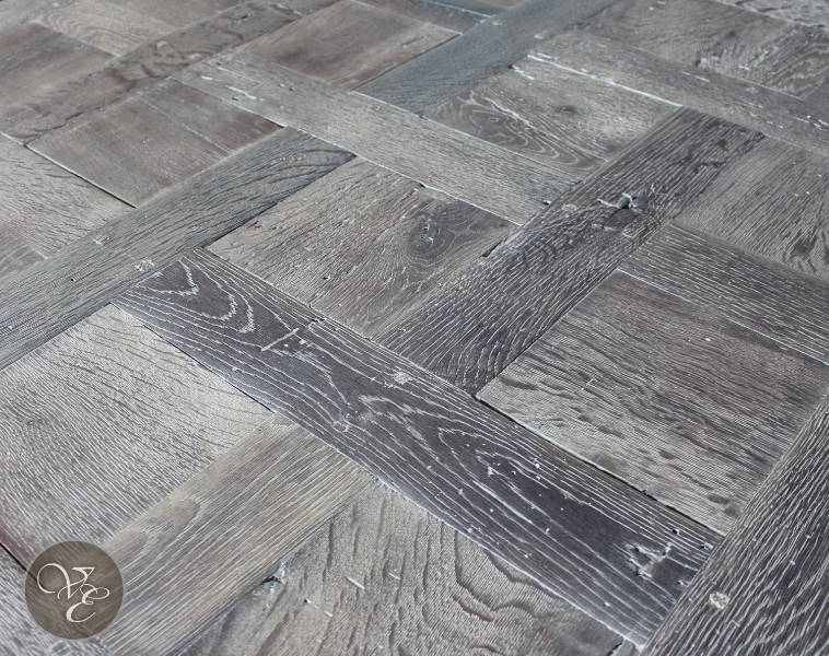 reclaimed oak French parquet  French Oak Flooring French