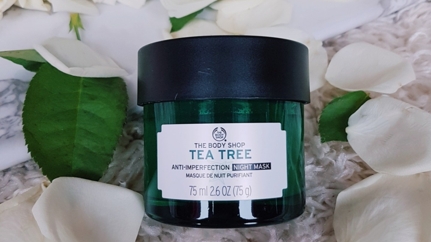 Review: Tea Tree Anti-Imperfection Night Mask