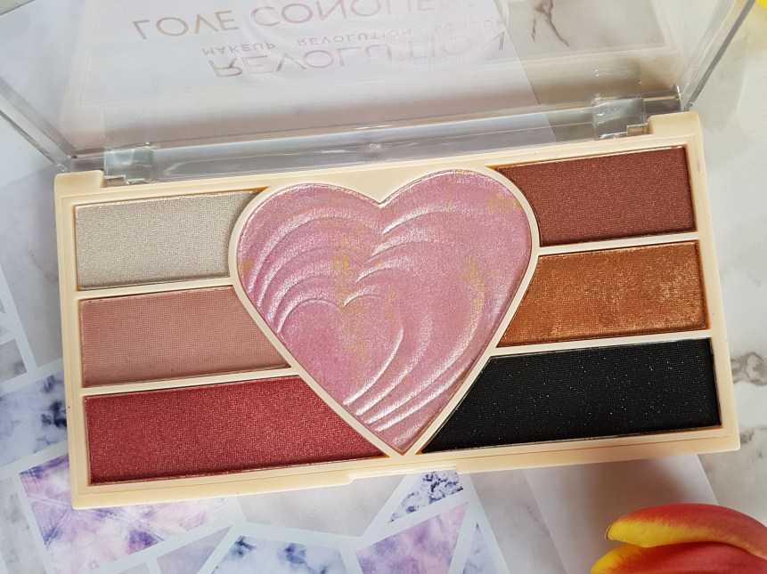 Makeup Revolution Revoholic Love Conquers All Palette