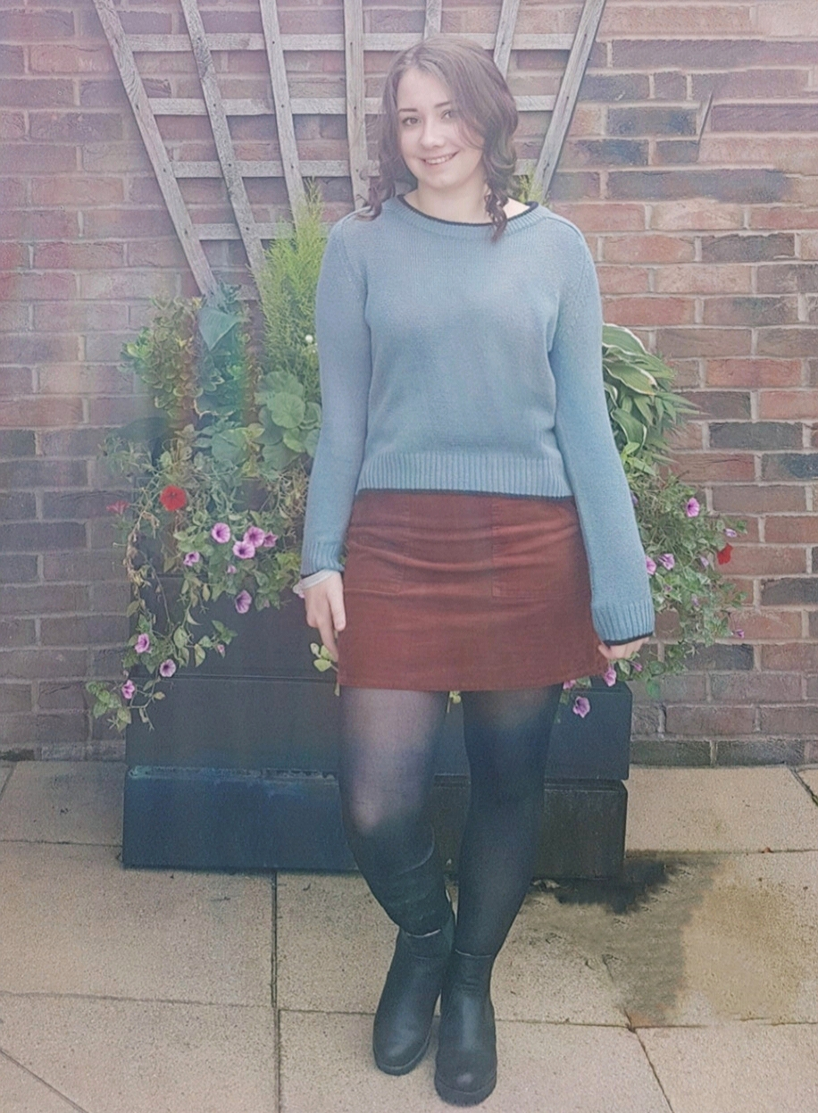 OOTD How To Style A Corduroy Skirt