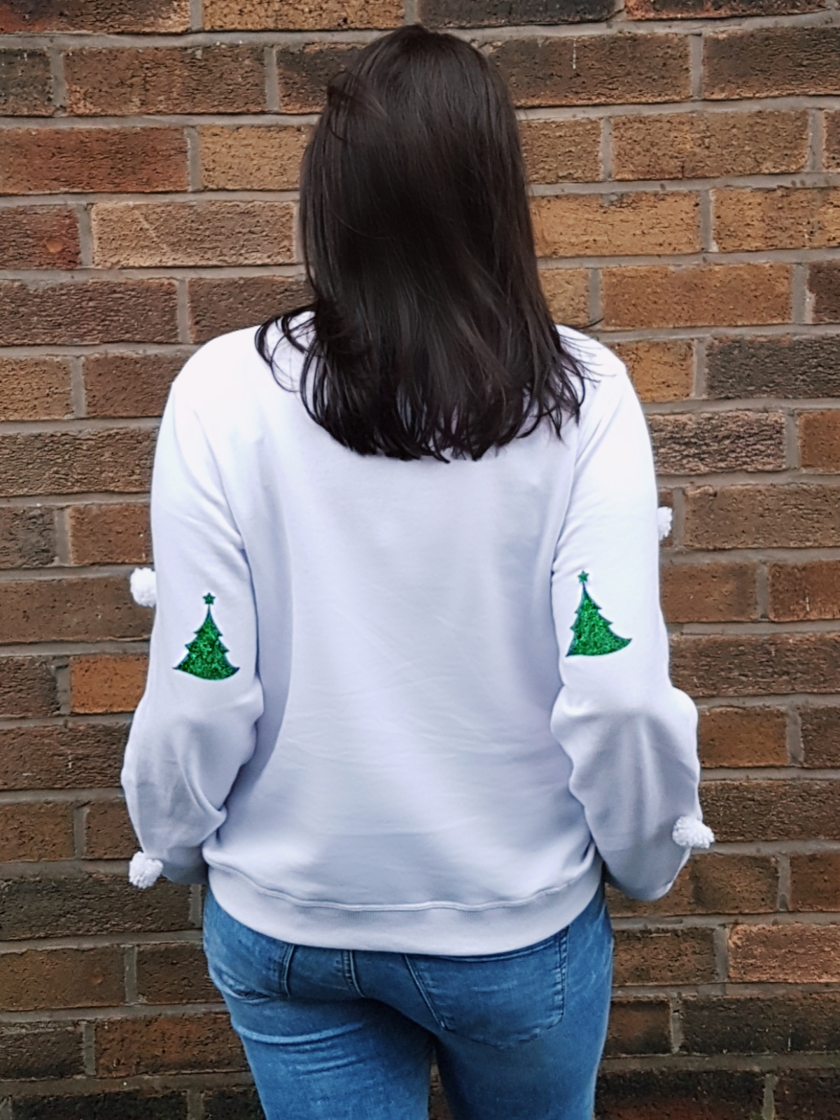 DIY Pom Pom Christmas Jumper