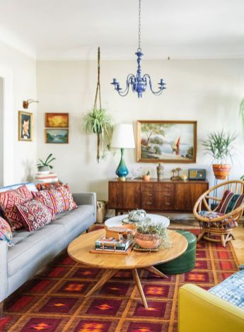 19Vintage Eclectic Home