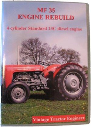 Massey Ferguson 35 (23C) Engine Rebuild DVD | Vintage