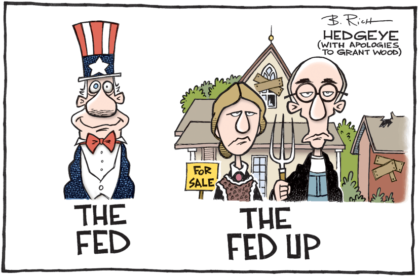 Fed Up with the Fed Hedgeye