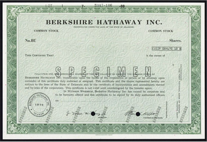 Why Is Berkshire Hathaway Stock So Expensive Vintage Value Investing