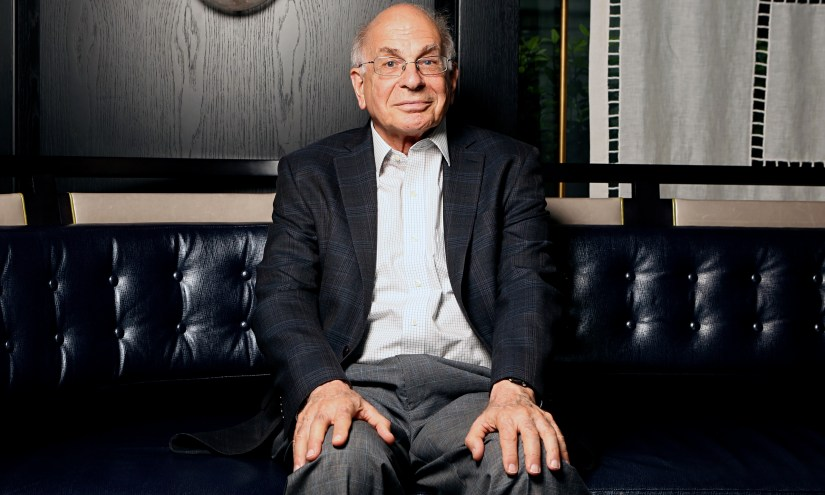 Psychologist Daniel Kahneman, Nobel laureate and author of the bestselling book Thinking, Fast and S