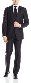 Tommy Hilfiger Men's Two Button Side Vent Suit