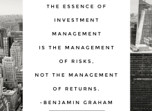 The essence of investment management - Ben graham - vintage value investing