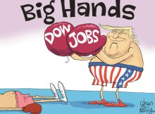 Dow Jobs Big Hands Trump - Vintage Value Investing