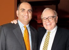 Mohnish Pabrai and Warren Buffett Photo - Vintage Value Investing