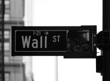 Wall Street Sign - Vintage Value Investing