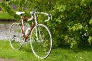 Jan Jansen Vitus 979 Dural, colour red, Dura Ace 7400