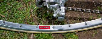 Fiamme red label tubular rims