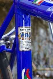 Gios Compact Pro HT tubing decal
