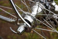 Campagnolo Record 8 speed rear hub with C-Record quick release