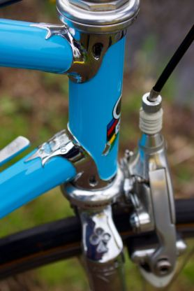 Colnago Master 1st generation late 80's head tube lugs
