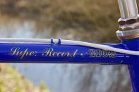 Gios Torino Super Record frame decals