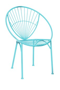 Blue Metal Chair, HomeSense, £39.99