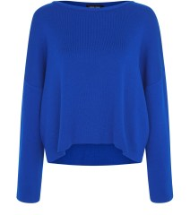 Blue Wide Split Sleeve Jumper, New Look, £29.99