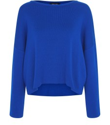 Blue Wide Split Sleeve Jumper, New Look, £29.99
