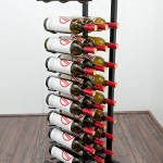 Point Of Purchase Floor Wine Rack 27 Bottles Vintageview
