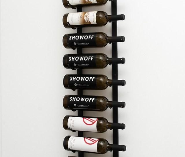 Ft Wall Series Metal Wine Rack  Bottles