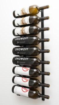 Magnum/Champagne Bottle Metal Wine Rack (9 to 18 bottles