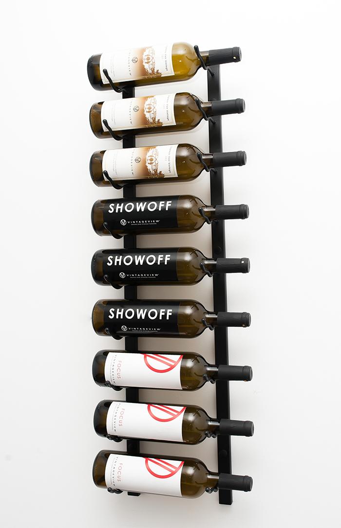 Wall Series 3 Metal Wine Rack 9 to 27 bottles  VintageView