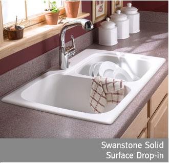 swanstone single bowl kitchen sink black mat rugs and granite sinks from vintage village craftsman