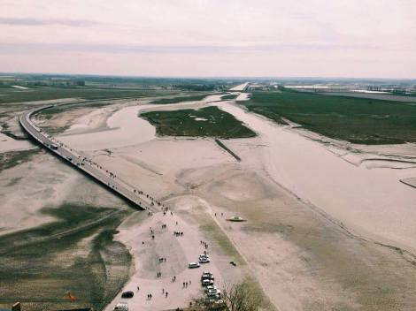 View from the top of Mont Saint-Michel