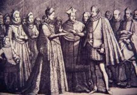 Wedding Memories - love honor and obey vows tudor wedding - a National Vintage Wedding Fair blog