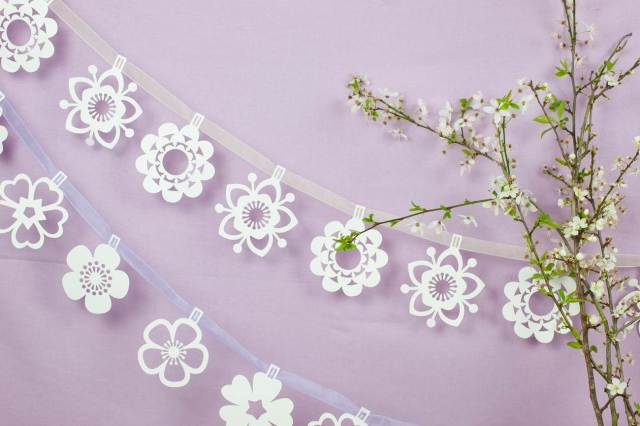 Paper Tree vintage wedding invited from The National Vintage Wedding Fair