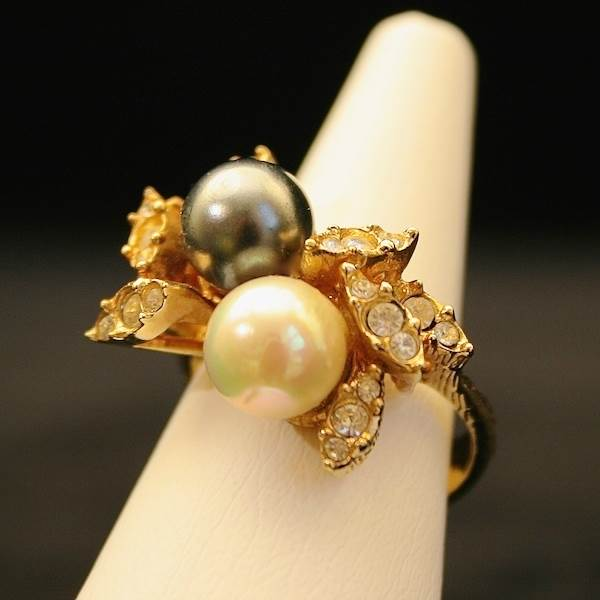 Ring, Christian Dior  Available at Gemma Redmond Vintage