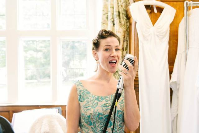 The National Vintage Wedding Fair in London Greenwich, taken by Lily Sawyer