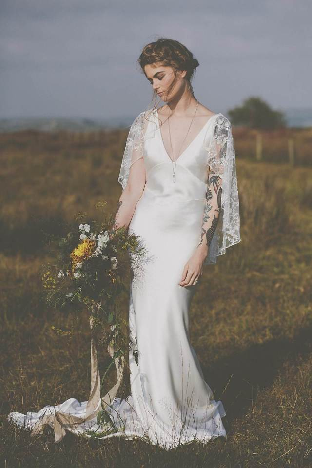 Rolling In Roses Zena May bridal collection from Glory Days Vintage as featured on The National Vintage Wedding Fair blog