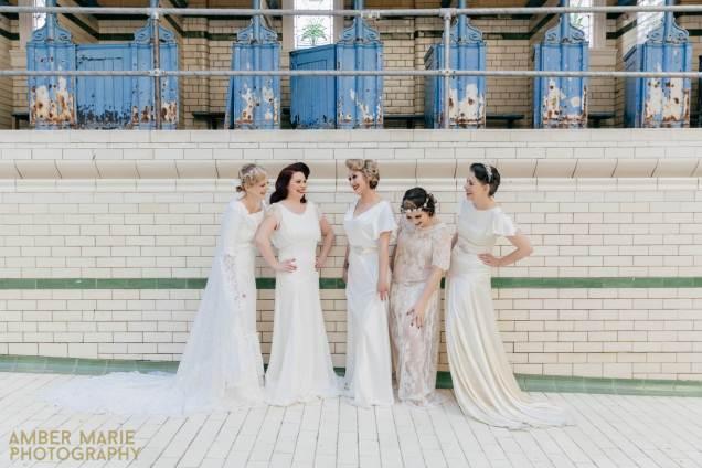 Vintage Wedding Dress Manchester : Our manchester vintage wedding fashion parade national