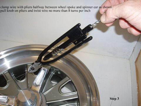 Safety Wiring Procedure for Spinners  Vintage Wheels