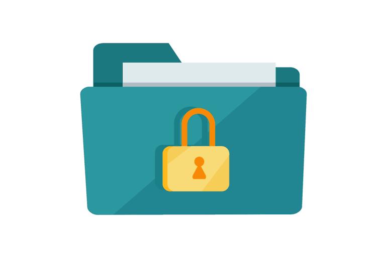 password protect zip file
