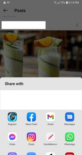 how to share posts on instagram